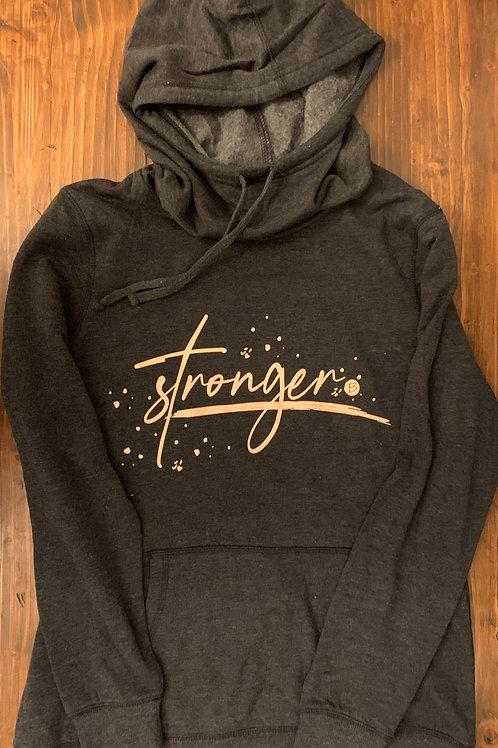 STRONGER GREY SWEATSHIRT