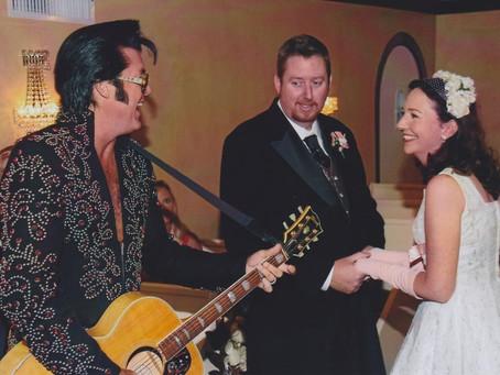 Viva Las Vegas ~ Our Wedding With Elvis!