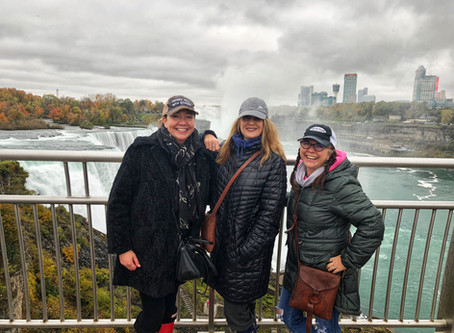 Our Journey To Niagara Falls:  The Maid of the Mist and Skylon Tower