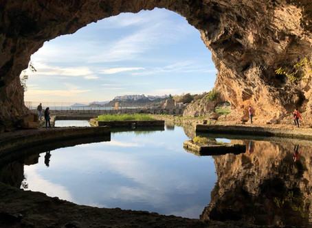 An Afternoon at the Grotto of Tiberius in Sperlonga