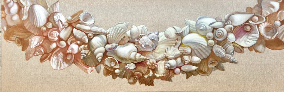 Sea Shells Decorative Garland