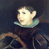 Portrait of Boy in Costume