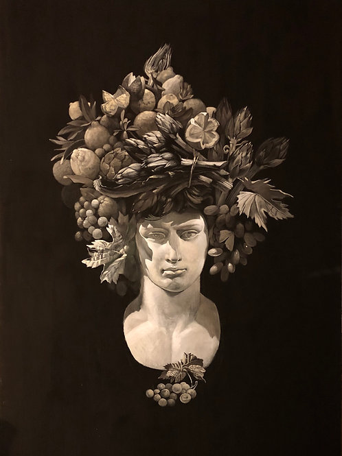 Testa d'Abbondanza - 110 x 180 cm./ 43.3 x 70.8