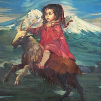 Girl on a Goat