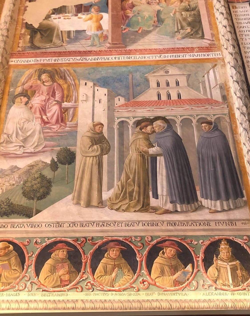 Genya Gritchin visits Benozzo Gozzoli in Italy.