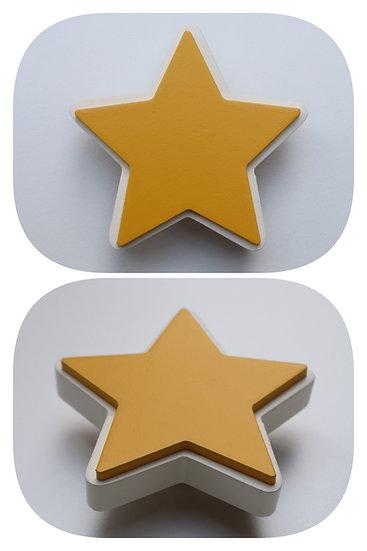 Wooden Star Drawer Knob
