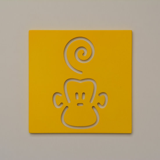 Monkey Wall Decoration (9 color)