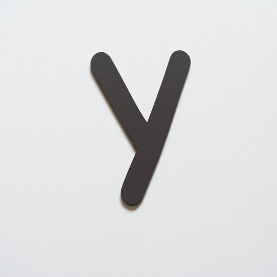 Wooden Letter Y (10 color)