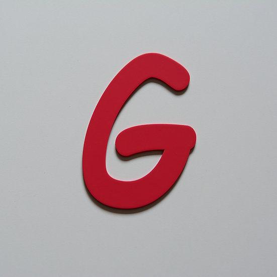 Wooden Letter G (10 color)