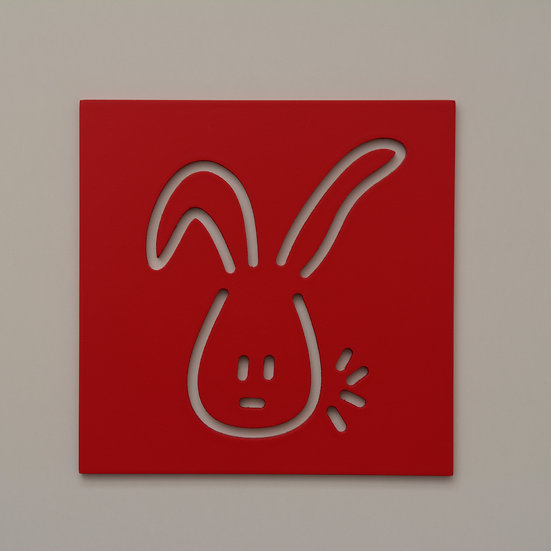 Rabbit Wall Decoration (9 color)