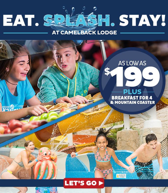 Eat. Splash. Stay