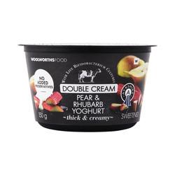 Double-Cream-Ayrshire-Pear-Rhubarb-Yoghurt-150g-6009195999391