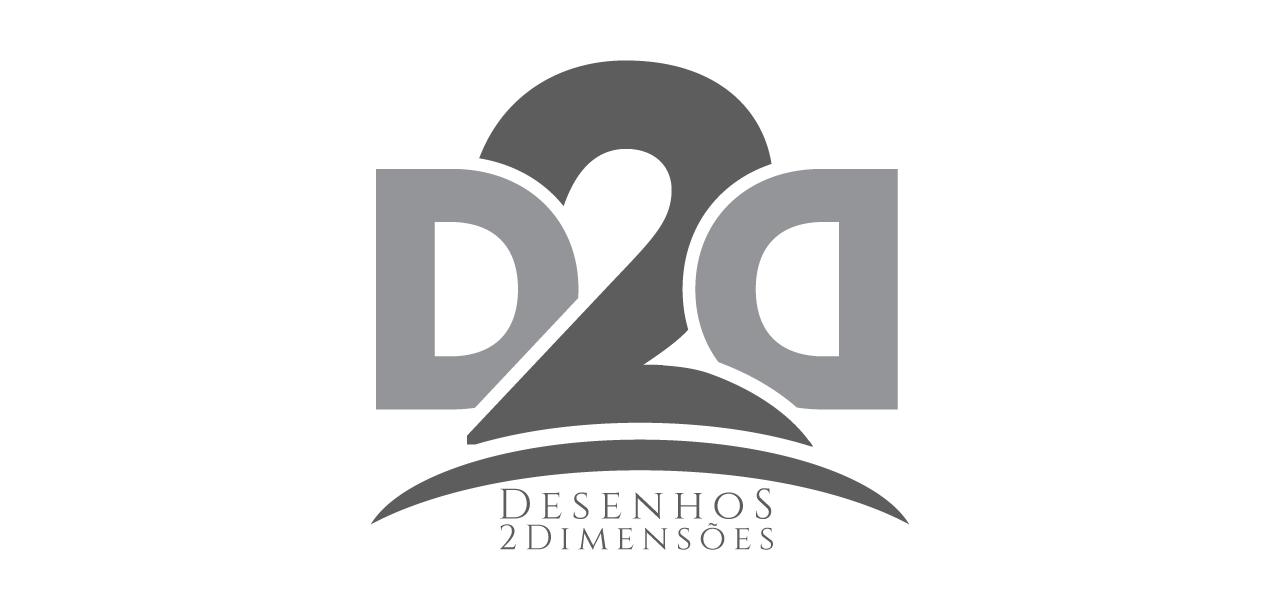 Logo - D2D Desenhos 2 dimensões