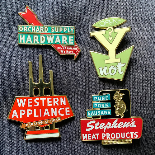 Four Pin Set