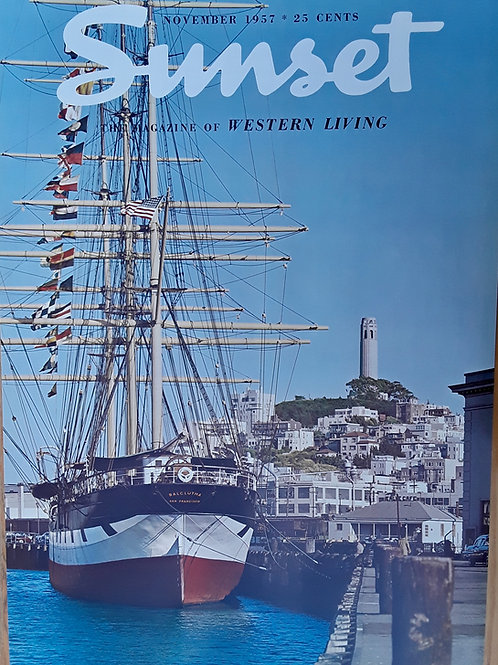 Balcutha Tall Ship SF - Nov 1957