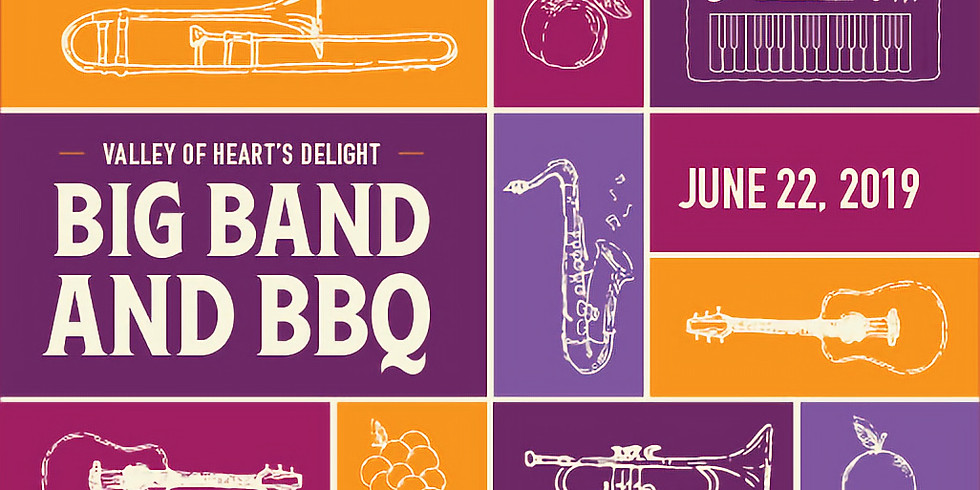 Valley of Heart's Delight Fundraiser:  Big Bands & BBQ