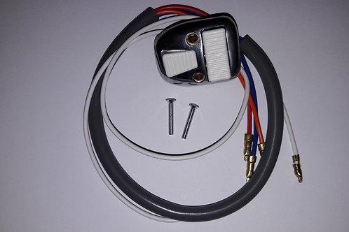 Casa Lambretta Light Switch White Buttons SX TV 1 2 3