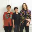 IRIE PARIS  2018 A/W ルックブック撮影にて 左:デザイナー 入江末男さん 右:担当したモデルさん