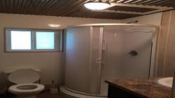 ranch house bathroom 2 shower