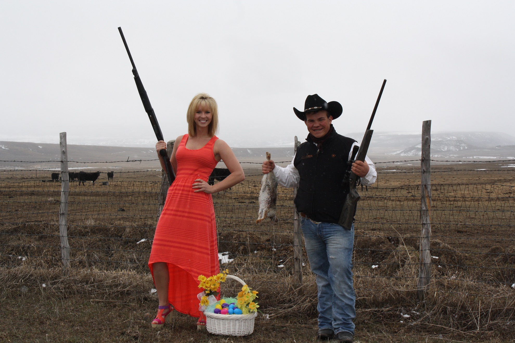 This is how we do Easter in Meeker!