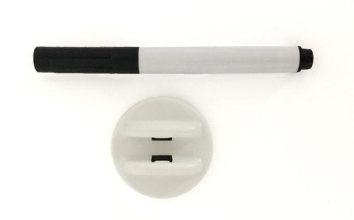 Whiteboard Marker mit Reinigungsschwamm