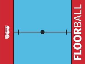 Floorball (Unihockey, Innebandy) Taktikboards von myTACTICS