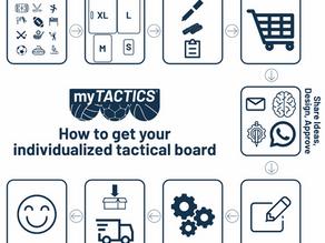 So kommt Ihr zu Eurem individualisierten Taktikboard