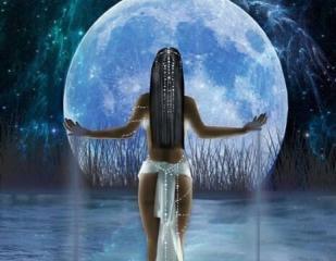 Desprendiéndose de la Mujer Lunar