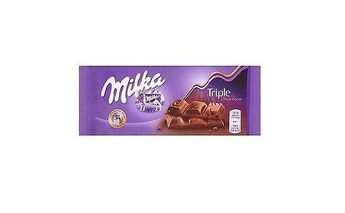 Milka -Triple Choco Cocoa