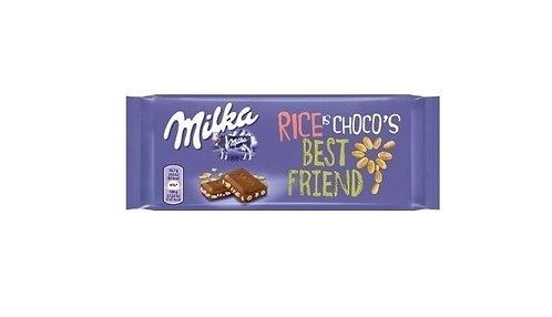 Milka - Choco & Rice