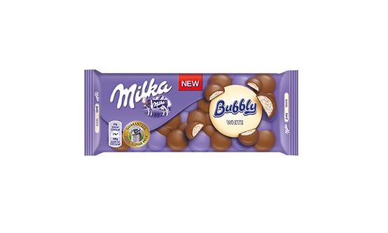 Milka - Bubbly White