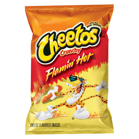 Cheetos  CRUNCHY - Flammin' Hot