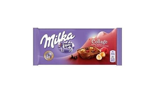 Milka - Collage Raspberry & Hazelnut