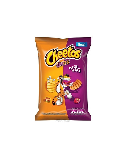 Cheetos - Duos Hamburger & Tomato