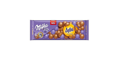 Milka - Bubbly Luflee Caramel
