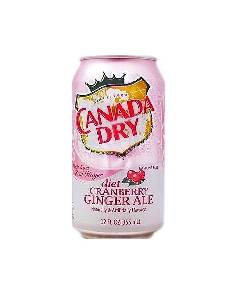Canada Dry - Diet Cranberry Ginger Ale