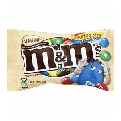 M&M's -Almond