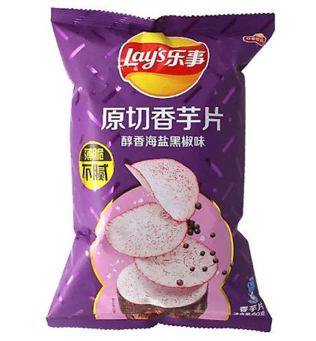 Lay's - Taro Salt & Pepper