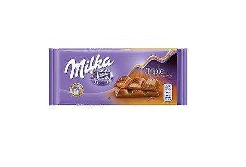 Milka - Triple Caramel