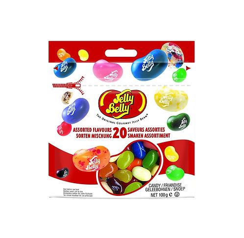 Jelly Belly - 20 Assorted Flovour