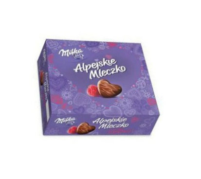Milka - Alpine Milk Raspberry