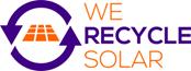 We Recycle Solar logo