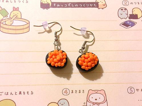 Masago Sushi Earrings