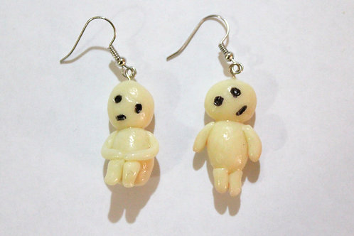 Glowing Kodama Earrings