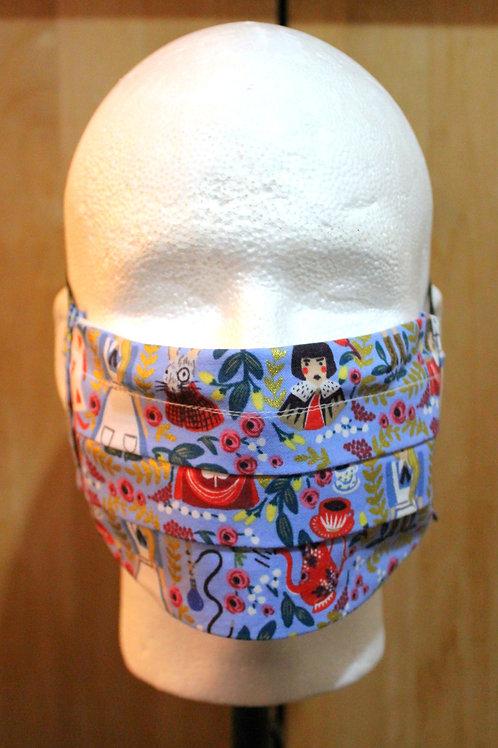 Alice in Wonderland Cloth Mask