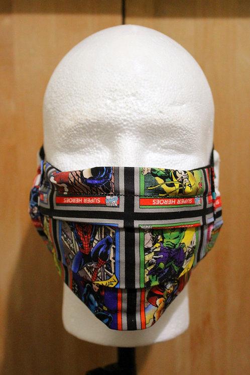 Comic Heroes Cloth Mask
