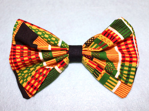 African Print Bow/Bowtie