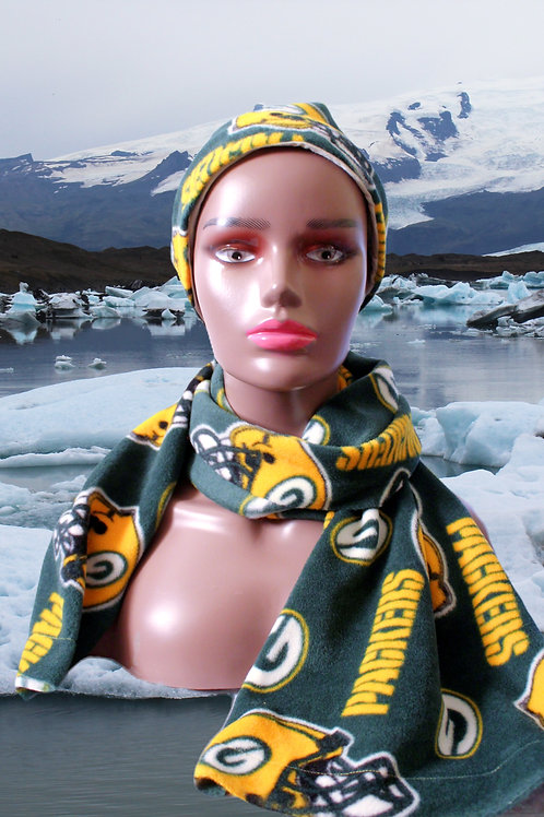 Packer Hat & Scarf Combo