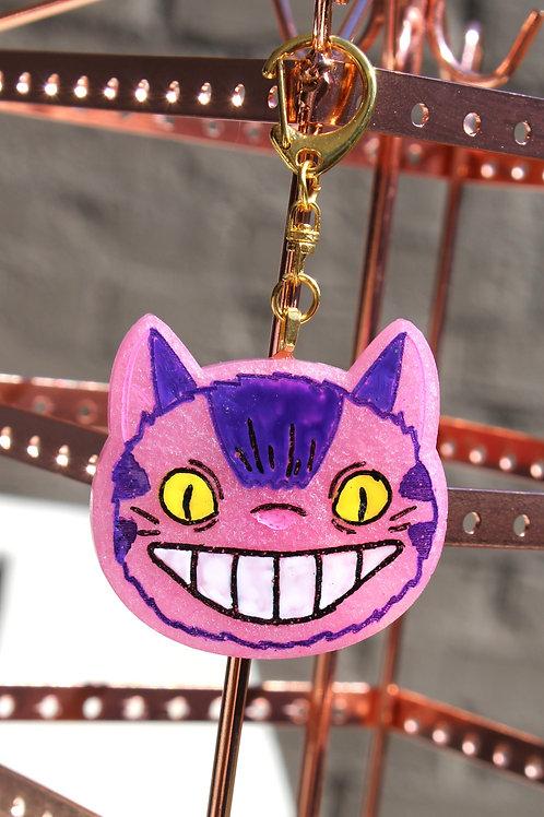 Cheshire/Cat Bus Charm