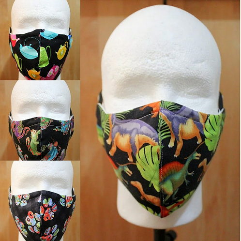 Abstract Prints 1 Cloth Mask
